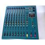Consola Amplificada 8 Canales Reikpro Audio Pmg-800usb