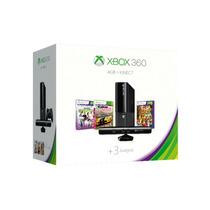 Xbox 360 Slim 4gb Con Control Inalámbrico + Kinect+ 3 Juegos
