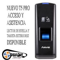 Control De Acceso Y Asistencia Biometrico T5 Pr 1000 Usuario
