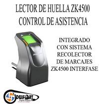 Control De Asistencia Biometrico Zk4500 Enviogratis