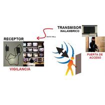 Monitor De Puertas Alarma Inalámbrica Portón Edificio Sensor
