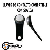 Llaves De Contacto Compatible Con Sovica 20unid Envio Gratis