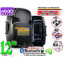 Corneta Amplificada Usb Sd Rca Bluetooth Ipod Radio Aux