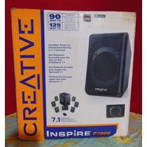 Home Theater Speakers Creative Inspire P7800 7.1 Pc