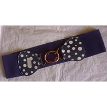 Correas, Cinturones Elásticos De Pepas Blancas Para Damas