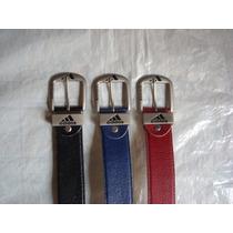Cinturones O Correas De Cuero Adidas Dama Y Caballero