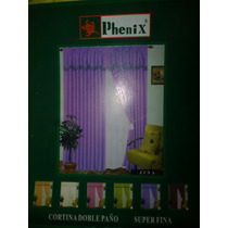 Cortinas De Ventana Doble Paño Phenix