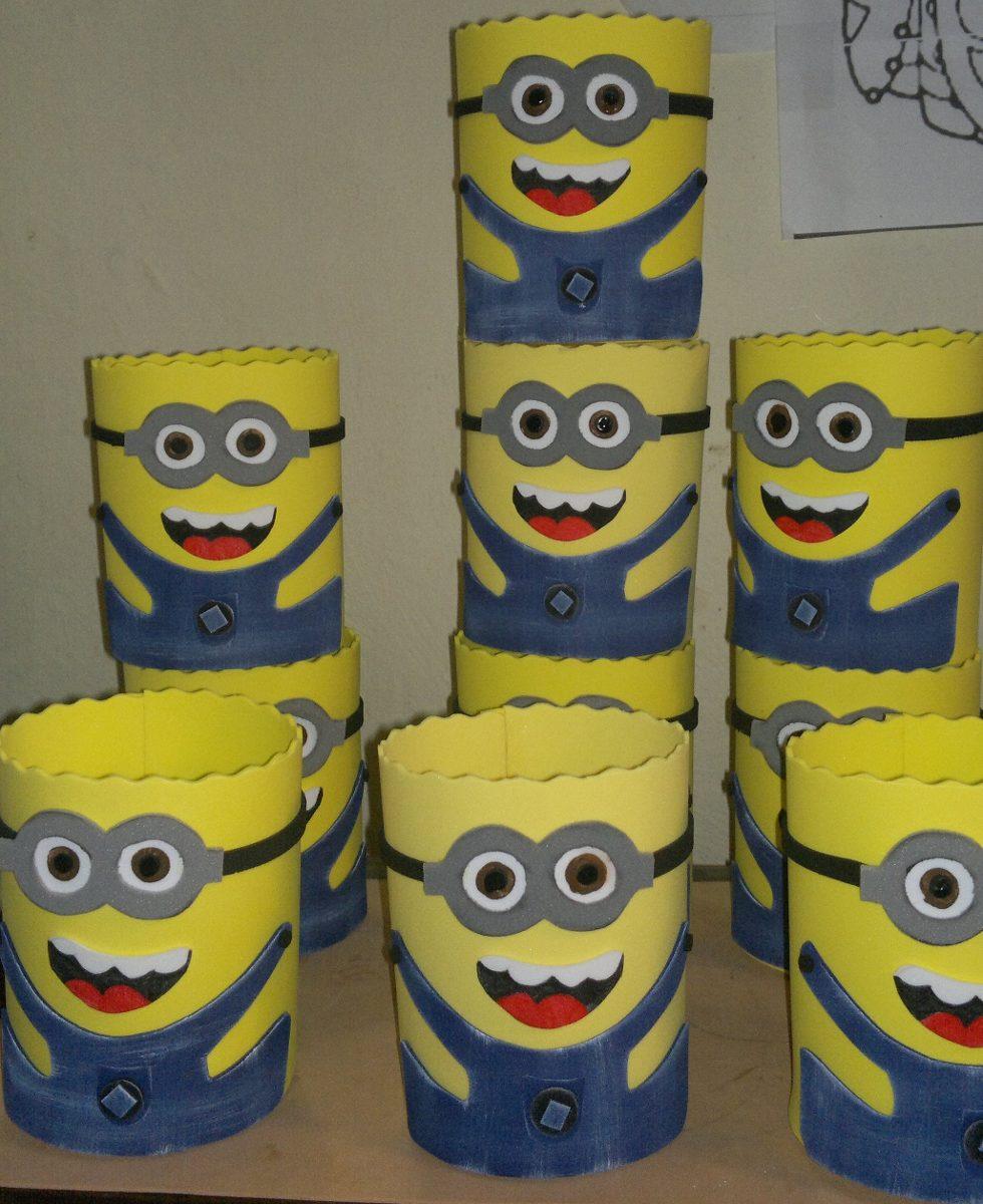 Cotillones Carameleras Fiestas Babosas Minions Mickey Foami2 - Bs. 460 ...