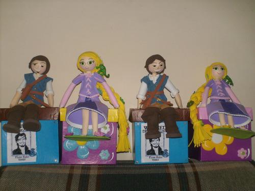 Cotillones De Rapunzel Y Flynn Rider En Foami