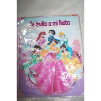 Tarjeta De Invitacion Princesa Barbie Dora Diego Doki Mickey