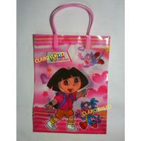Bolsas Dora, Monster High, Campanita, Y + Para Cotillón