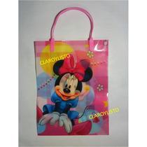 Bolsas Minnie, Dora, Campanita, Princesas, Y + Para Cotillón