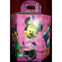 Minnie Boutique Mini Cotillon Exagonal Fiestas Infantiles