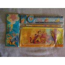 Disney Kit Escolar De Winnnie The Pooh