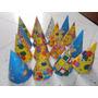 Sombrero Cono De Carton Colorido Hora Loca Matrimoio 15 Años