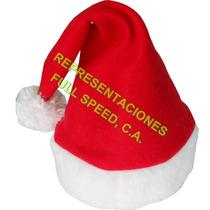 Sombrero O Gorro De Navidad Santa De Lujo, Hora Loca