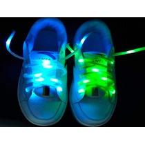 Trenzas Led Luminosas Para Zapatos Fiestas, Hora Loca!