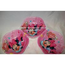 Platos Para Fiesta Minnie Mickey Set 3 Platos Cotillon