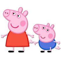 Kit Imprimible Peppa Pig, George Pig