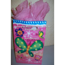 Bolsa Mariposa Frutillita Minnie Mickey Tren Thomas Cotillon
