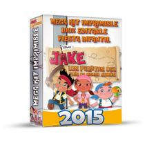 Jake Pirata Mega Kit Imprimible Invitaciones