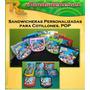 Sandwicheras Plasticas Personalizadas Para Cotillones Pop