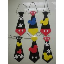 Corbatas De Mickey En Foami Cotillones