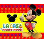 Super Combo Fiesta Mickey Mouse. Productos Importados Y Nac