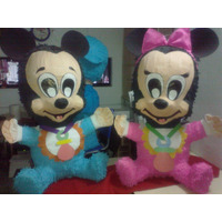 Piñata Minnie Bebe O Mickey Bebe Mediano Bs. 599