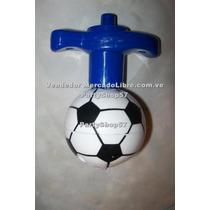 Juguete Trompo Pelota Balon Futbol Con Luces Y Musica