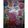 Sticker Calcomanias Peppa Pig 3d George Cotillon Gigantes
