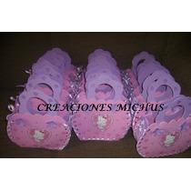 Cotillones Carteras En Foami Princesas Barbie Hello Kitty