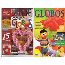 Colección De 12 Revistas De Decoración Con Globos