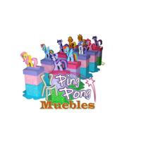 Cotillones O Centro De Mesa, Pony,princesas Sofia, Fresita