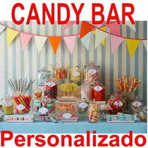 Kit Imprimible Candy Bar Dulceros Personalizados. Fiestas!