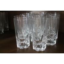 11 Vasos Licor Agua Marca Francesa Francia Cristal D´arques