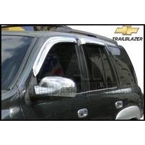 Deflectores De Ventanas Cromados / Chevrolet Trailblazer