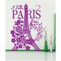Vinilos Decorativos I Love Torre Eiffel Pequeño-paredes-