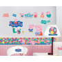 Cinta Decorativa Hd: Peppa Pig Discovery Kid Vinil Adhesivo