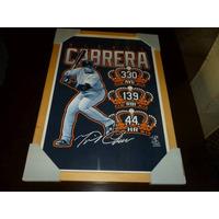 Cuadro D Béisbol D Miguel Cabrera, Triple Corona 2012..... 1