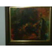 Bruno Garcia Cuadro La Piedad 50x42 Marco Galeria
