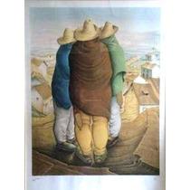 Vendo Serigrafia Los Tres Comisarios De Hector Poleo