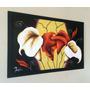 Arte Moderno, Pintura Abstracta, Óleos Sobre Lienzo 120x77cm