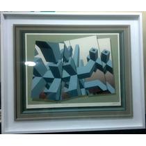 Vendo Serigrafia Del Artista Julio Paheco Rivas 70 X 100 Cms