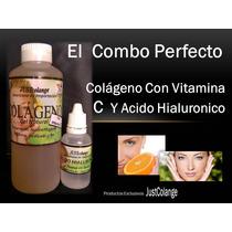 Colágeno Con Vitamina C + Ácido Hialurórico En Gel