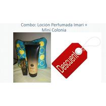 Locion Perfumada Para El Cuerpo Y Mini Colonia Imari Avon