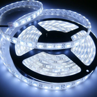 Cinta Tira Led Blanco 5050 Brillante 5 Mts 300 Led 12v Car
