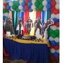 Decoracion De Mesas De Fantasia Avengers Spiderman Otros...