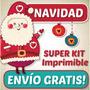 Kit Imprimible Navidad 2014 Patrones Foami Lenceria Muñecos