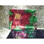 Bandeja De Vidrio Flor De Navidad (44 X 32 Cm)